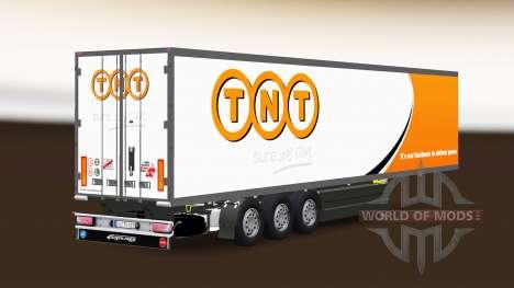 Semitrailer el refrigerador Schmitz Cargobull TNT para Euro Truck Simulator 2