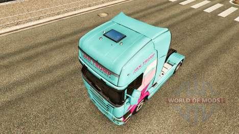 Jan Tromp piel para Scania camión para Euro Truck Simulator 2