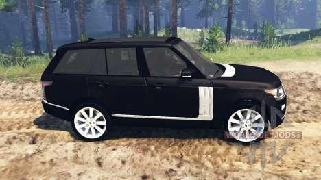 Land Rover Range Rover Vogue (L405) para Spin Tires