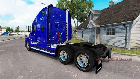 Скин compañía Nacional на Freightliner Cascadia para American Truck Simulator