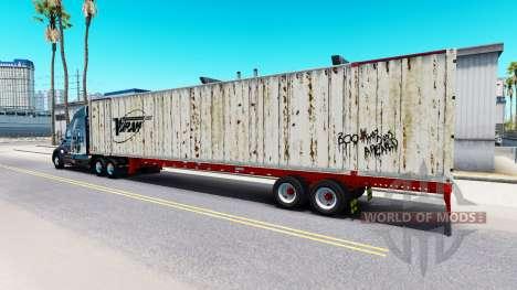 Semirremolque contenedor Vitran para American Truck Simulator