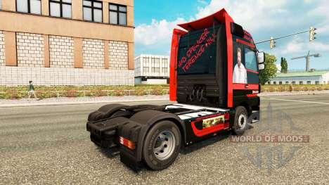 Spencer Hill de la piel para el camión Mercedes- para Euro Truck Simulator 2