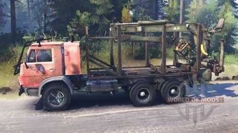 KamAZ-53212 para Spin Tires