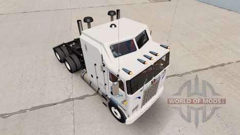 Walmart de la piel para Kenworth K100 camión para American Truck Simulator