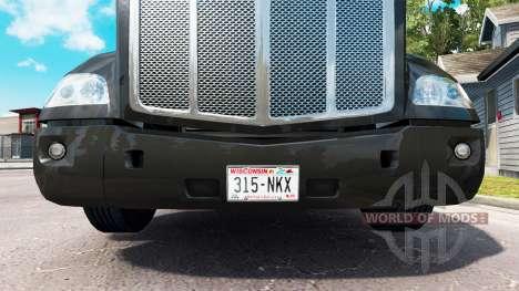 Una colección de placas para American Truck Simulator