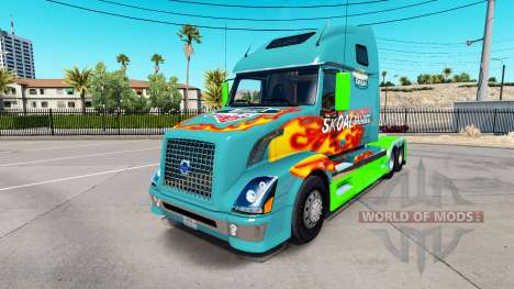 Skoal Bandido de la piel para camiones Volvo VNL para American Truck Simulator