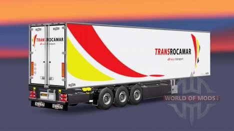 Semi-remolque frigorífico Chereau Transrocamar para Euro Truck Simulator 2