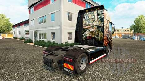 Husaria de la piel para camiones Volvo para Euro Truck Simulator 2
