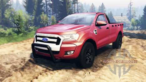 Ford Ranger 2016 v2.0 para Spin Tires