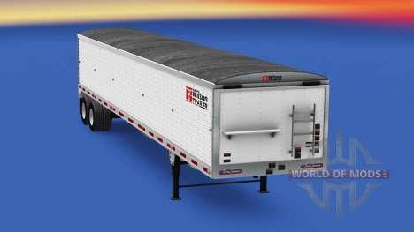 Volquete semirremolque Wilson para American Truck Simulator