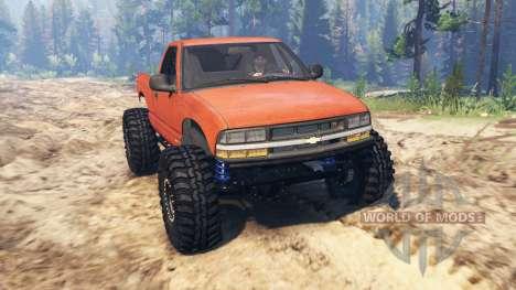 Chevrolet S-10 Crawler para Spin Tires