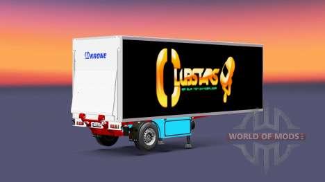 Semirremolque frigorífico Corona Corona Club de  para Euro Truck Simulator 2