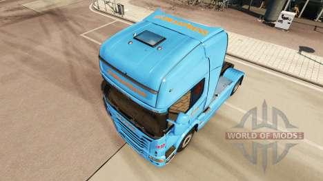 Braspress de la piel para Scania camión para Euro Truck Simulator 2