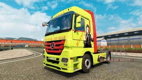 La piel Bulent Ceylan en camión Mercedes-Benz para Euro Truck Simulator 2