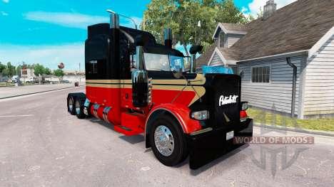 La piel Bajo la Vida para el camión Peterbilt 389 para American Truck Simulator
