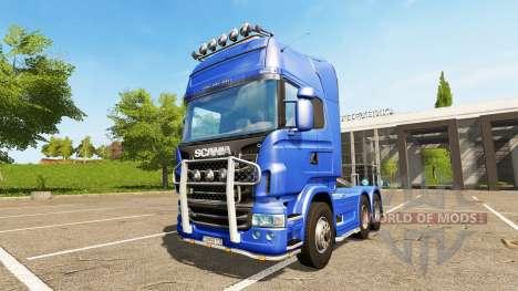 Scania R730 Topline para Farming Simulator 2017