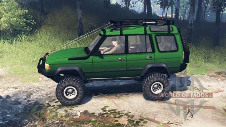 Land Rover Discovery v4.0 para Spin Tires
