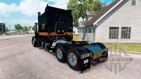 La piel SRS Nacional para el camión Peterbilt 38 para American Truck Simulator