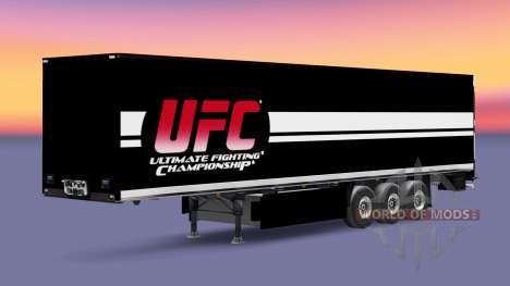UFC piel para remolques para Euro Truck Simulator 2