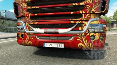 El toro de los cuernos para Euro Truck Simulator 2