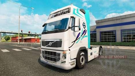 La piel de los camiones Volvo para Euro Truck Simulator 2