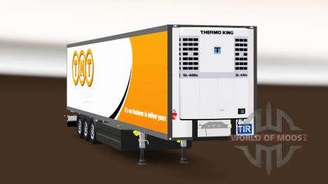 Semitrailer el refrigerador Schmitz Cargobull TN para Euro Truck Simulator 2