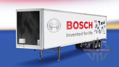 La piel de Bosch en el remolque para American Truck Simulator