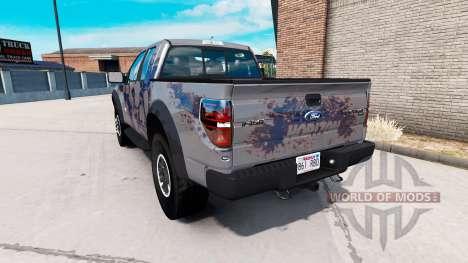 Ford F-150 SVT Raptor v1.5.1 para American Truck Simulator