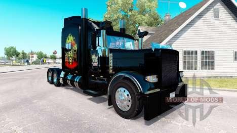 La piel de la Máxima Overdrive en el camión Pete para American Truck Simulator