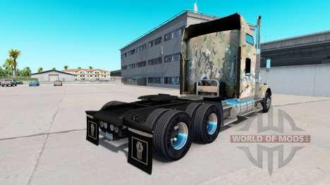 La piel de Camuflaje en el camión Kenworth T800 para American Truck Simulator