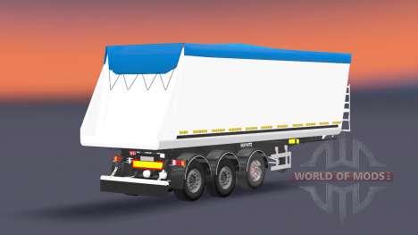Tipper semi-remolque Schmitz Cargobull para Euro Truck Simulator 2
