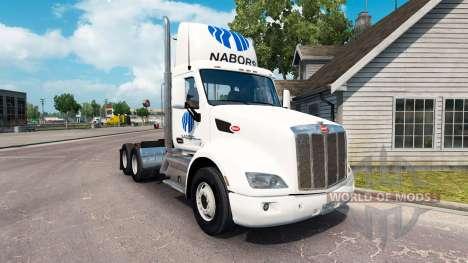 Nabors de la piel para el camión Peterbilt para American Truck Simulator