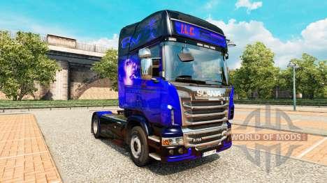 La piel de SU Transporte Internacional en el tra para Euro Truck Simulator 2