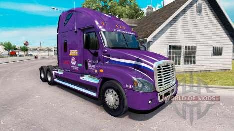 Скин Pacto de Transporte на Freightliner Cascadi para American Truck Simulator