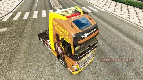 Spencer Hill piel para camiones Volvo para Euro Truck Simulator 2