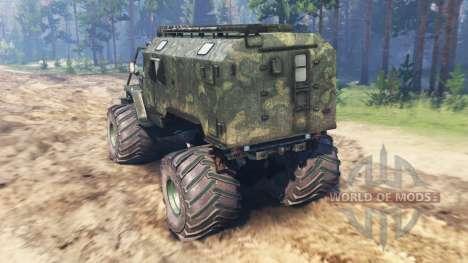 Ural Monstruo para Spin Tires
