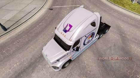 Piel Protegida de la Tierra para un camión Freig para American Truck Simulator