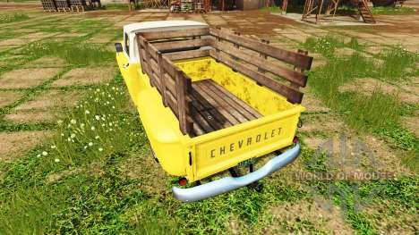 Chevrolet C10 Fleetside 1966 para Farming Simulator 2017