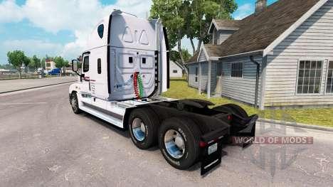 Скин P. A. M. Transporte на Freightliner Cascadia para American Truck Simulator
