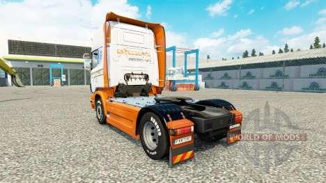 La excelencia de Transportes de la piel para Sca para Euro Truck Simulator 2