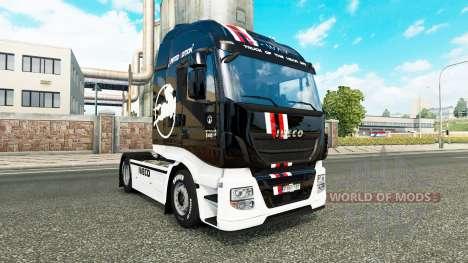 Edición limitada de la piel para Iveco tractora para Euro Truck Simulator 2