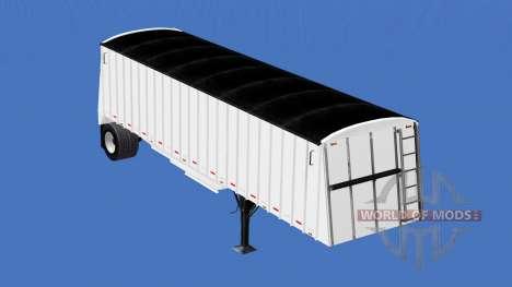 Semi-remolque, camión de grano para American Truck Simulator