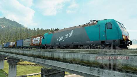 Los trenes de carga para Euro Truck Simulator 2