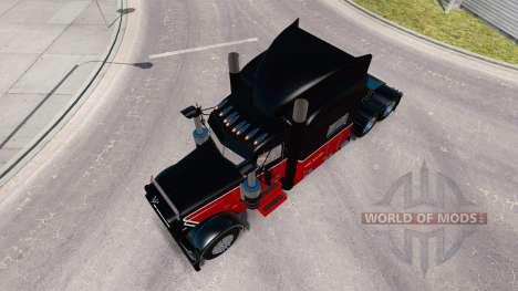 La Piel Bert Materia Inc. para el camión Peterbilt 389 para American Truck Simulator