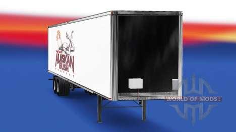 La piel de Alaska Bush de la Empresa en el remol para American Truck Simulator