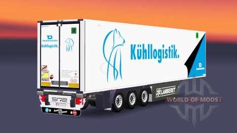 Semitrailer reefer EN Transdanubia para Euro Truck Simulator 2