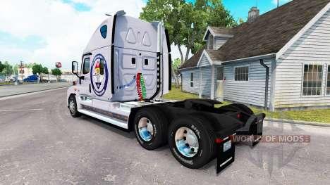 Piel Protegida de la Tierra para un camión Freightliner Cascadia para American Truck Simulator
