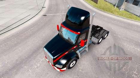 La piel Mammoet estados UNIDOS en los tractores para American Truck Simulator