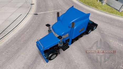 La piel Caliente de la Carretera de Plataformas  para American Truck Simulator
