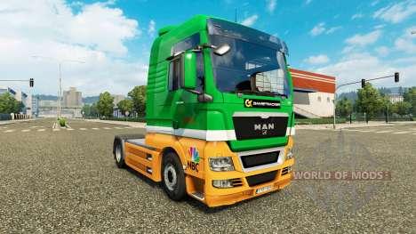 Karcag Trans piel para HOMBRE camión para Euro Truck Simulator 2
